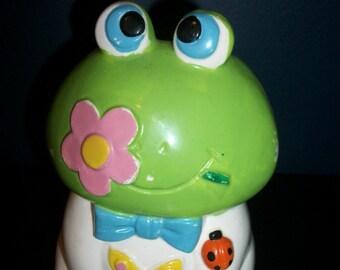Vintage Rubens Frog Planter