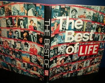 Vintage Photography Retrospective The Best of Life Coffee Table Book 1973