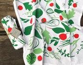 Garden Salad Tea Towel