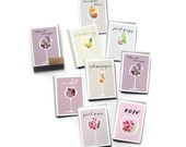 SALE! Boxed Set of 8 Wine Profile Cards