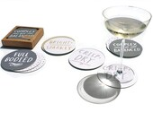 Sale! Wine Notes Coasters - set of 12