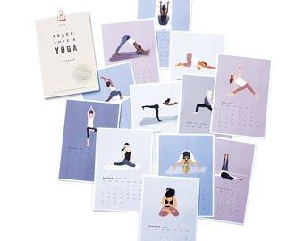 SALE! 2018 Yoga Desk Calendar