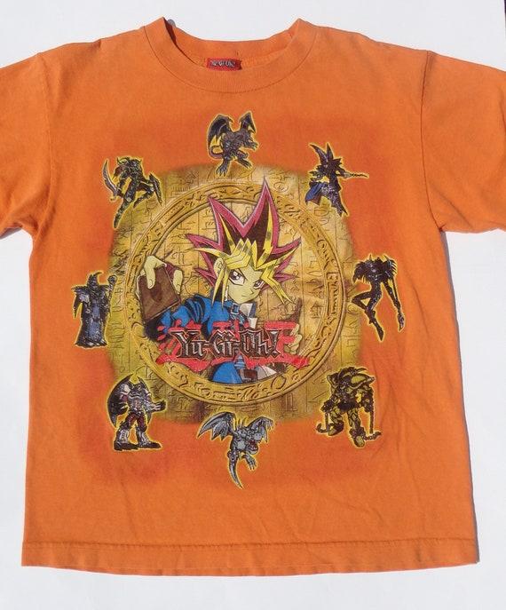 Vintage 1990s Yu-Gi-Oh T-Shirt RARE Design Yugi Mutou Retro  7852a37626e39