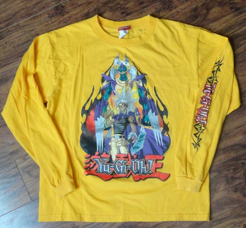 Vintage 1996 Yu-Gi-Oh T-Shirt RARE Design Yami Marik Retro  98ed0b08c4cf8