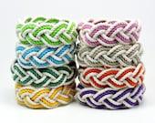 Cotton Rope Beach Bracelet Choose your Color