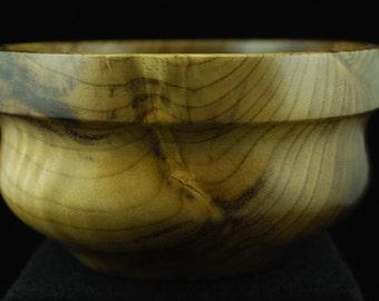 Handmade Custom Wooden Bowl, Oregon Myrtle, Rustic Kitchen