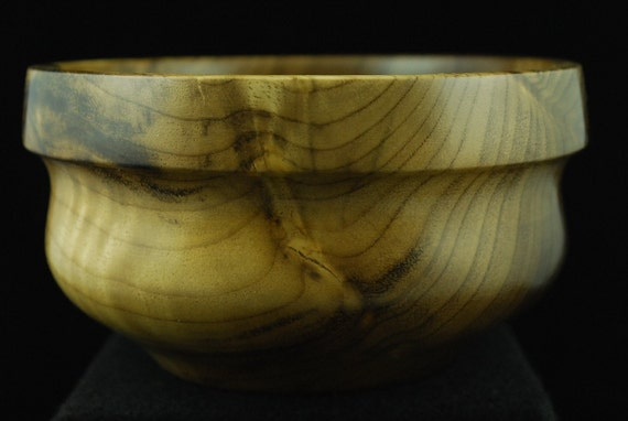 Handmade Custom Wooden Bowl, Oregon Myrtle, Rustic Kitchen
