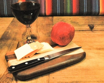 Valentines Day Gift Petite Cutting Board,  Serving Board, Unique Gift, Adventure Board, Perfect Gift, Small Kitchen, ASHWoodshops