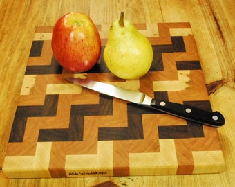 End Grain Butcher Block Board For the Home Chef, Handcrafted Kitchen Board, Cheese Board, Beautiful Gift, ASH Woodshops Valentines Day Gift