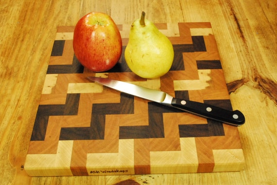 End Grain Butcher Block Board For the Home Chef, Handcrafted Kitchen Board, Cheese Board,Beautiful Gift, By ASH Woodshops