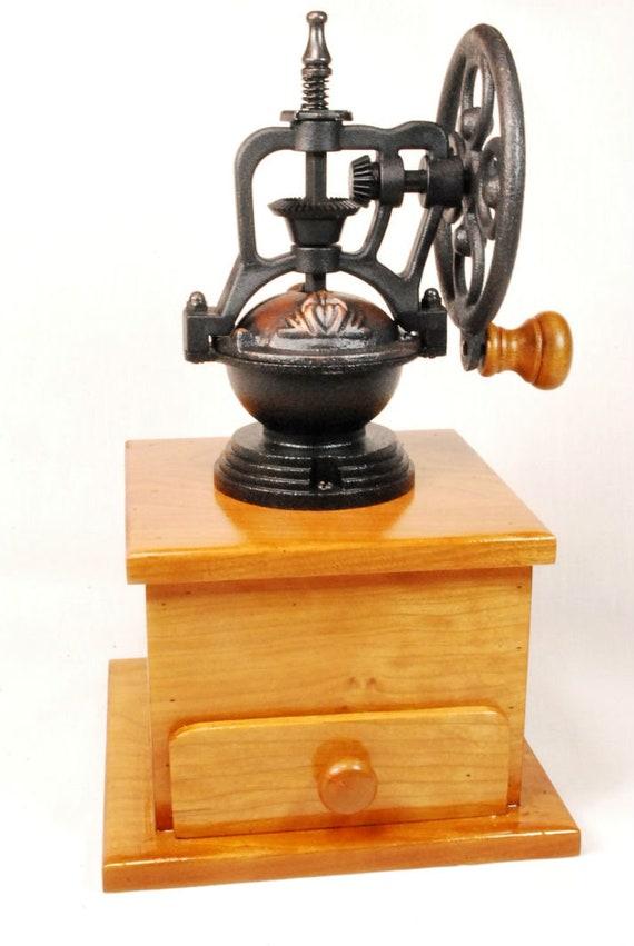 Steampunk Coffee Mill Grinder Vintage Style