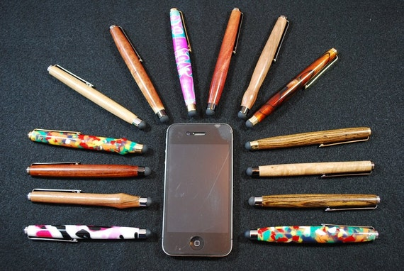 Customize for YOUR Wedding, Handcrafted Touchscreen Pocket Stylus, iPad, iPhone, groomsmen gifts, wedding favor, Custom Made To Order