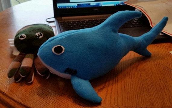 Charmant Passen Sie Ihre Hai Kissen Plüsch /Great White Shark /