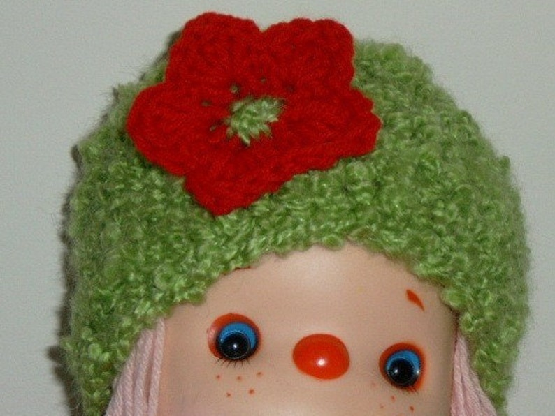 Design your Beanie Cap and let me handmade it for you Rock Star Christmas Hat