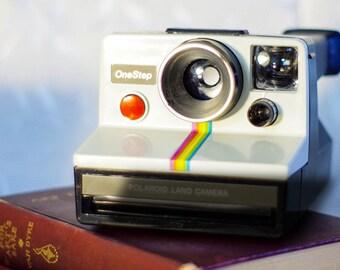 This Camera NOT FOR SALE! Art Photography, Polaroid Rainbow, Antique Camera, Retro, Still Life, Fine Art, Vintage Camera, Polaroid, Shabby