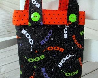 Halloween Trick or Treat Bag, Halloween Tote Bag, Toddler Tote Bag, Halloween Treat Bag, Reusable Halloween Gift Bag