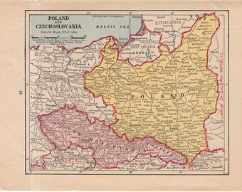 Ex Jugoslawien Karte.Alte Karte Jugoslawien Etsy