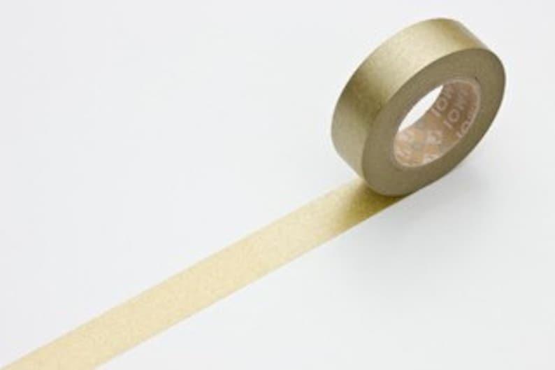 Gold washi tape gold tape Washi Paper Solid GOLD tape 15mm Japanese MT masking tape gold craft tape Wedding Decoration