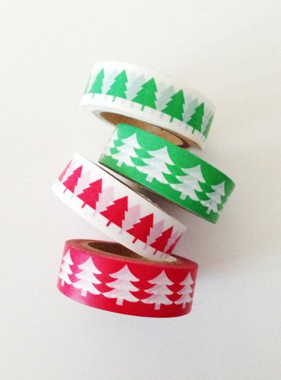 15m Nordic Snowflake Self Adhesive Washi Tape for Christmas Crafts