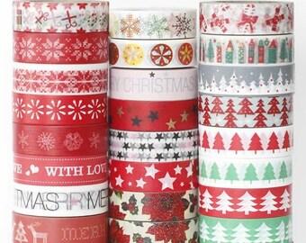 Christmas Washi Tape Holiday