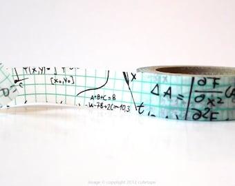 Grid Math Washi Tape math Deco Paper Tape