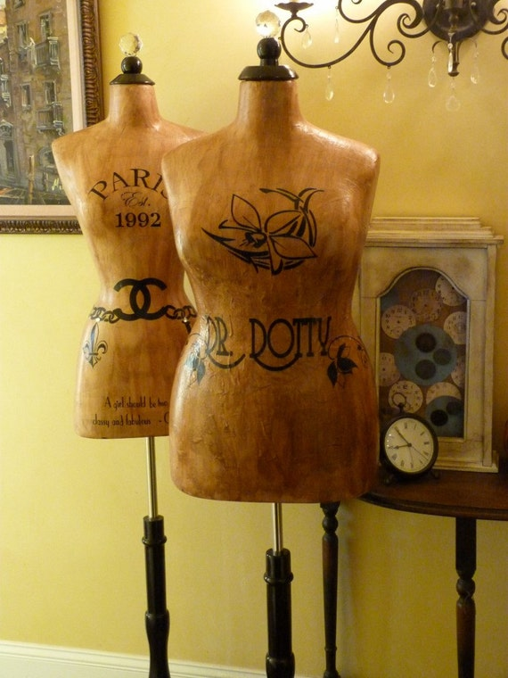 Dress Form Mannequin Vintage Inspired Plus Size Full Figured Etsy