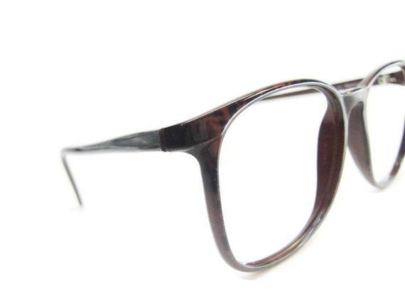 NICE Vintage Mens Brown Tourtoise Hornrim Eyeglasses Eyewear | Etsy