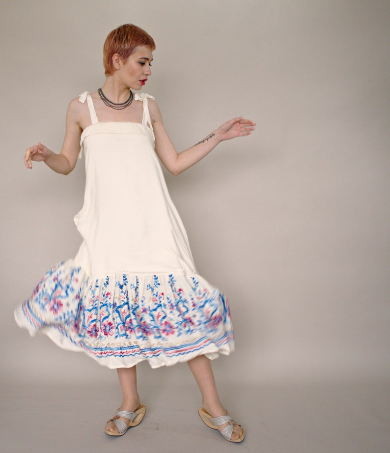 White Tank Dress Plus Size Midi Dress Plus Size Clothing | Etsy