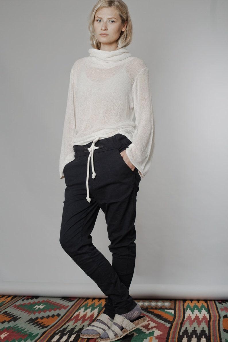 Harem Pants, Black Pants, Women Pants, Plus Size Clothing, Drop Crotch  Pants, Wide Leg Pants, Urban Clothing, Low Crotch Pants, Baggy Pants
