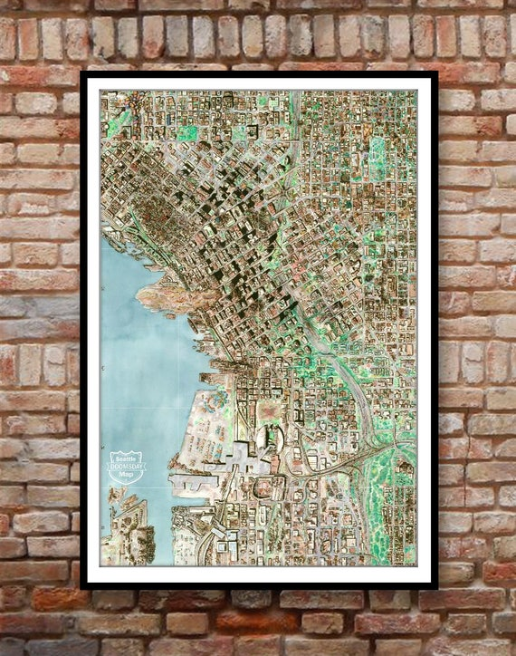 Poster: Seattle Doomsday Map