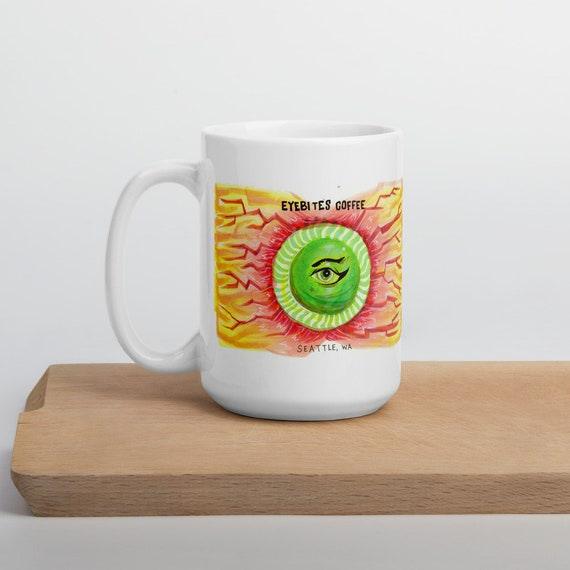 Eyebite's Menacing and Cursed Coffee Mug