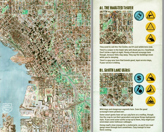 Seattle Doomsday Map Digital Edition