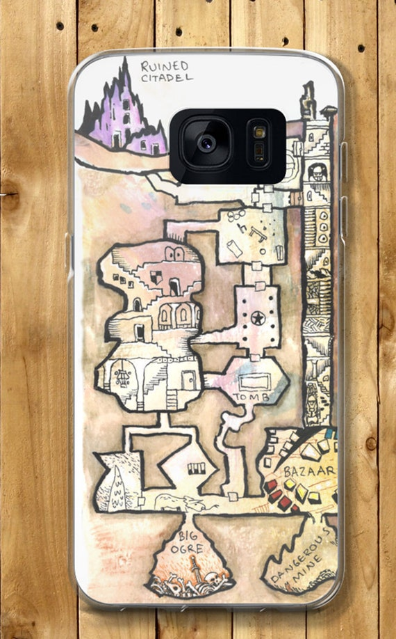 Dungeon Map Samsung Case - The Dwarven Ruin