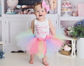 Sweet One First Birthday Outfit Girl | Sweet One Tutu Dress | Donut Grow Up | Sweet One Cake Smash Outfit Baby Girl