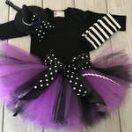 Baby Halloween Costume Girl | Baby Witch Costume Tutu Dress