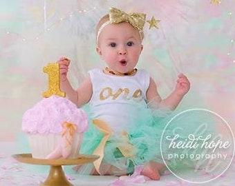 First Birthday Outfit Girl | Cake Smash Tutu