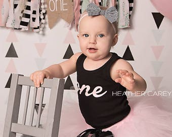 Paris Pink Baby Girl 1st Birthday Outfit | Baby Tutu | Tutu Dress | Birthday Dress | Baby Girls Cake Smash Outfits | Birthday Tutu