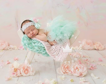 Mint Baby Tutu | Mint Newborn Tutu | Baby Girl Outfits | First Birthday Outfit | Cake Smash Outfits | Birthday Tutu Dress | Baby Girl Mint