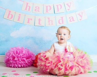 First Birthday Outfit Girl | Baby Girl Tutu Dress | 1st Birthday Girl | First Birthday Cake Smash Outfits