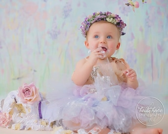 Lavender Birthday Outfit | Birthday Outfits | Baby Girl 1st Birthday Outfit | First Birthday Outfit | Cake Smash Outfits | Dress | Tutu