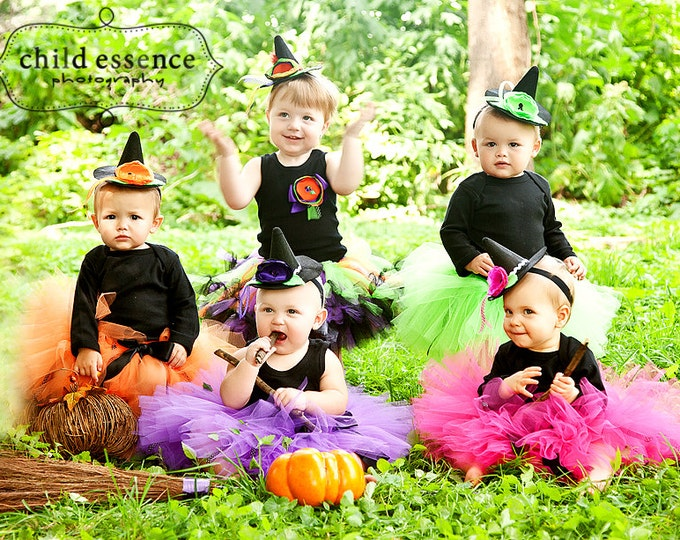 Baby Girl Halloween Costume | Baby Witch Costumes  sc 1 st  StrawberrieRose & Baby Halloween Costume - StrawberrieRose
