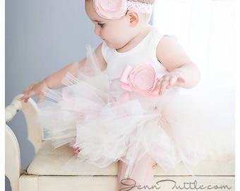 Birthday Tutu Dress - Baby Girls Birthday Outfit - Birthday Dress - Cake Smash - Pink Mint Gold - 1st birthday - 2nd Birthday - 3rd Birthday