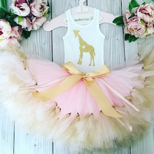 Second Birthday Tutu Dress Zoo Animal 2nd Birthday Outfit Girl 2 Year Old Toddler Outfits