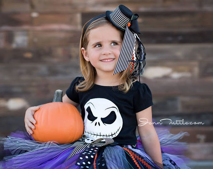 Jack Skellington Baby Girl Costumes | Nightmare Before Christmas Costumes | Halloween Costume Baby Girl |  sc 1 st  StrawberrieRose & StrawberrieRose