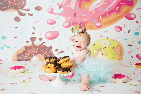 Miraculous Donut 1St Birthday Girl Outfit First Birthday Girl Infant Tutu Funny Birthday Cards Online Aeocydamsfinfo