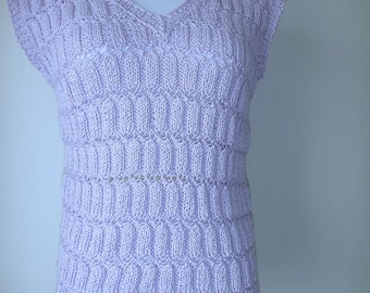 Lilac cotton top no. 250