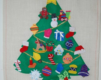Christmas Advent Calendar Felt
