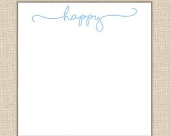 Happy Notepad - 200 sheets