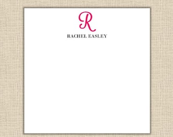 Personalized Notepad - Square Notepad 80 sheets (size 5.5x5.5 square)