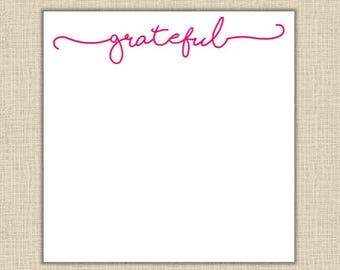 Grateful Notepad - 200 sheets